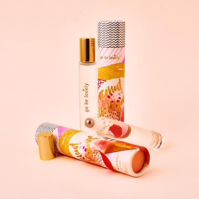Perfume roll-on Go Be Lovely - Enriqueta Regala Bonito